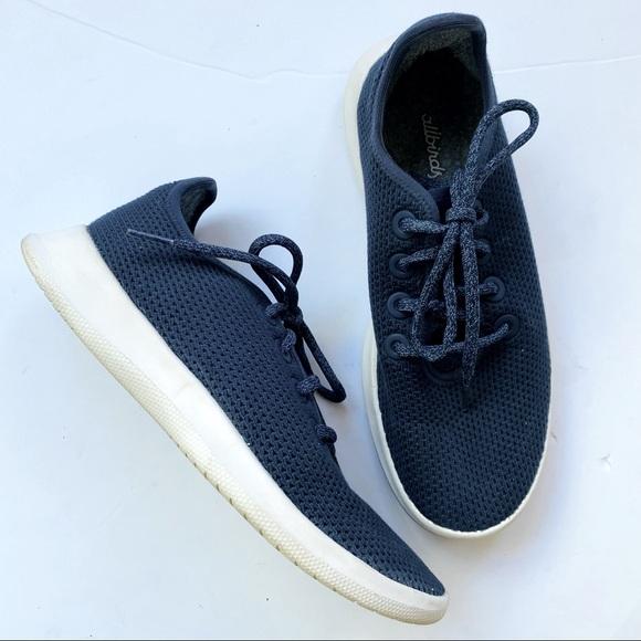 allbirds Shoes - allbirds Tree Runners Kauri Marine Blue Size 8